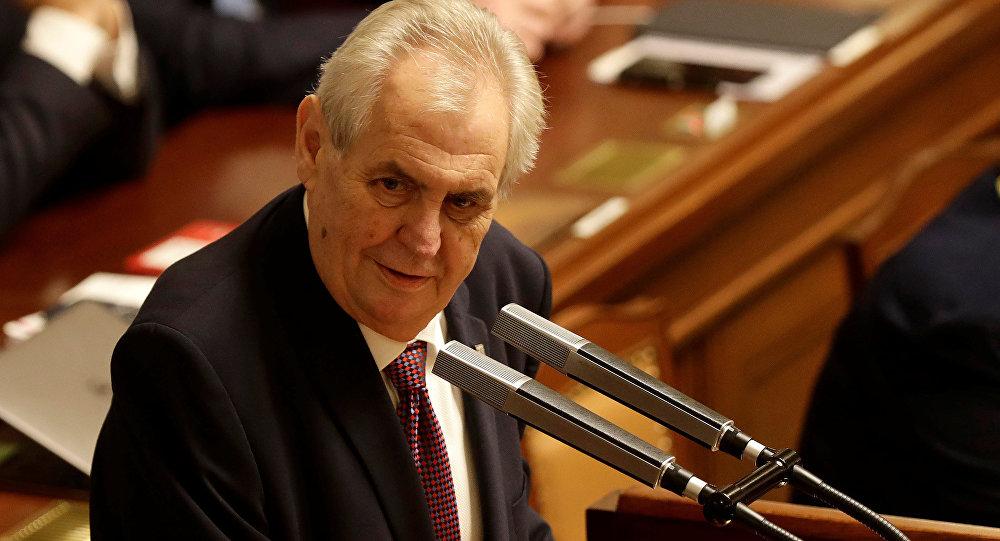 捷克總統澤曼