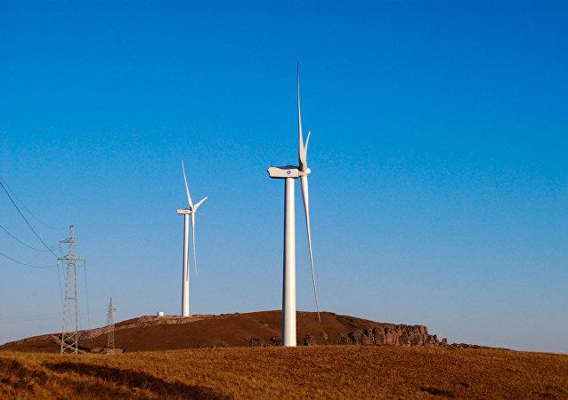Ветряные мельницы в провинции Хэбэй
