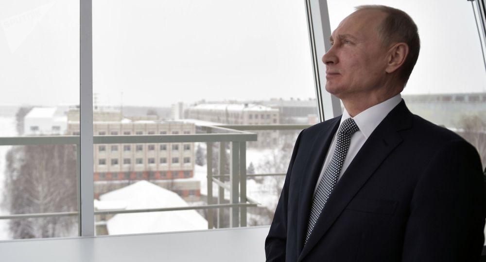近七成俄公民會在總統選舉中投票給普京