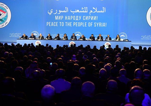 土耳其外長:安卡拉認為索契敘全國對話大會富有成果