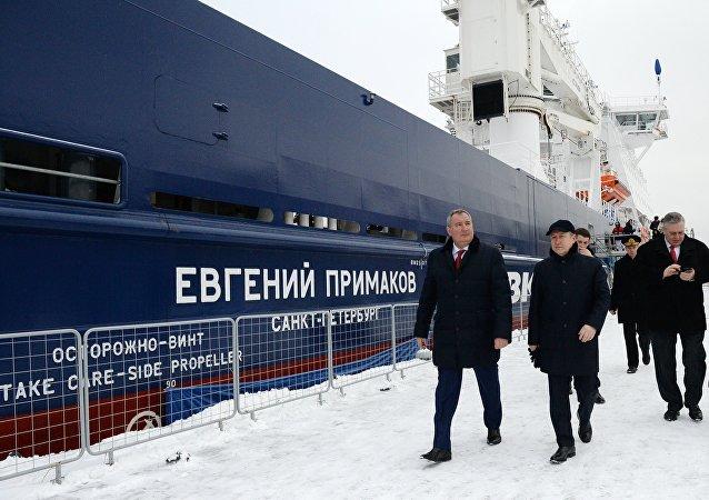 在赫爾辛基建造的破冰船以葉夫根尼·普里馬科夫的名字命名
