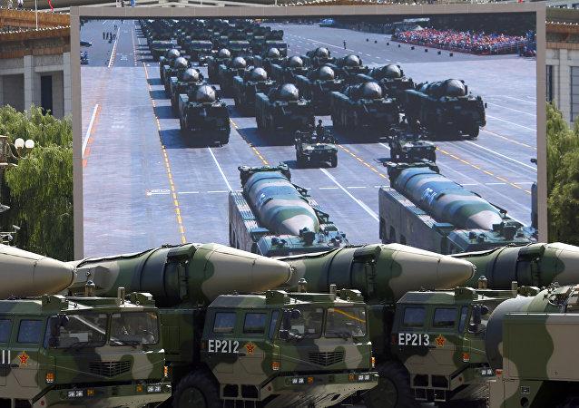 中國導彈 資料圖