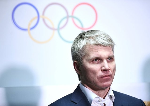 俄羅斯體育運動部部長巴維爾•科洛布科夫(資料圖片)