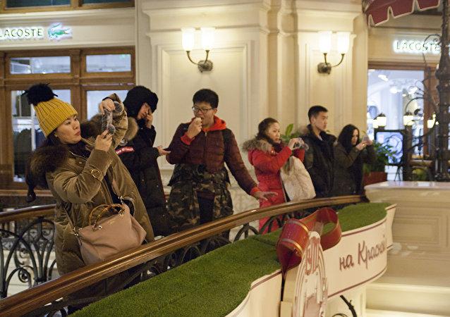 專家:春節期間中國至少有1.5萬人將赴莫斯科和聖彼得堡旅遊