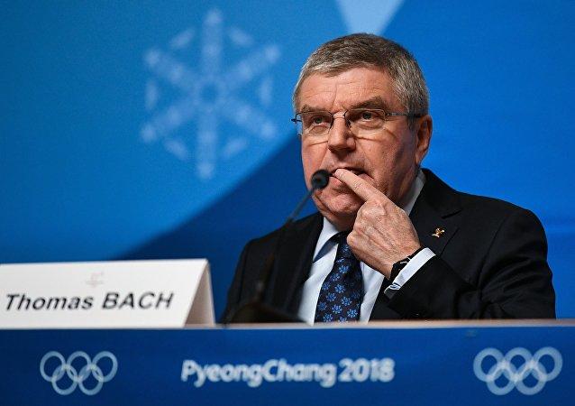 國際奧委會主席巴赫