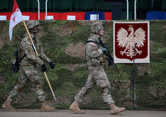 美國軍人在波蘭