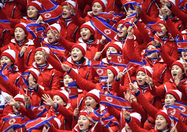 朝鮮拉拉隊