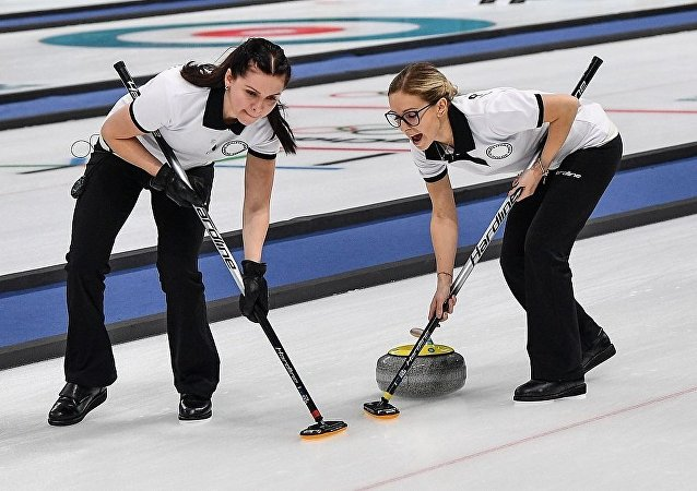 俄羅斯女子冰壺隊失利 輸給日本隊