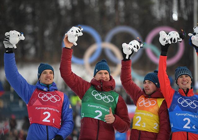 俄滑雪運動員在接力賽上再奪一枚銀牌,俄羅斯已獲10枚獎牌