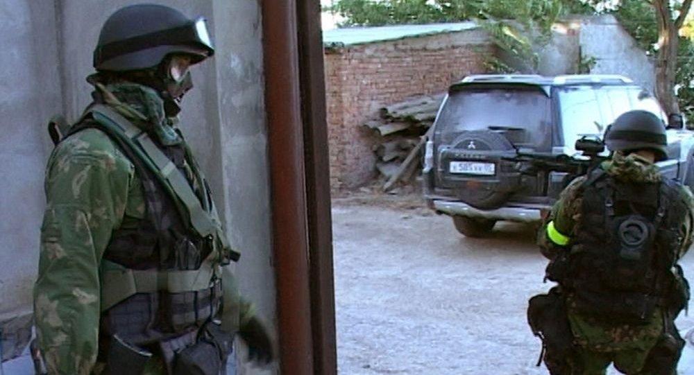俄達吉斯坦特別警方