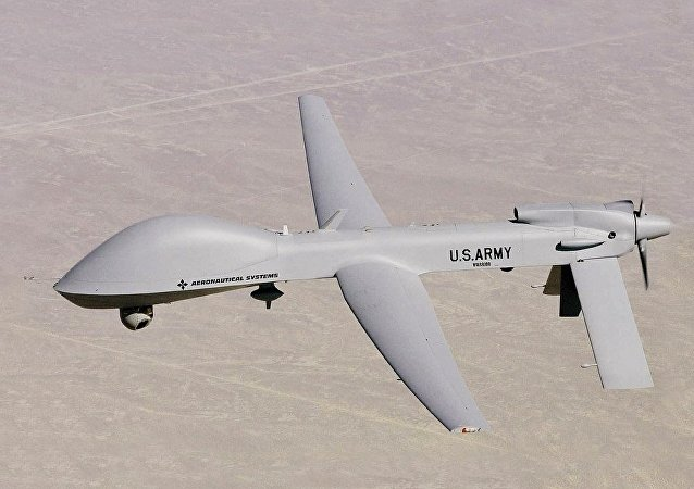 美國灰鷹無人攻擊機  (MQ-1C Grey Eagle)