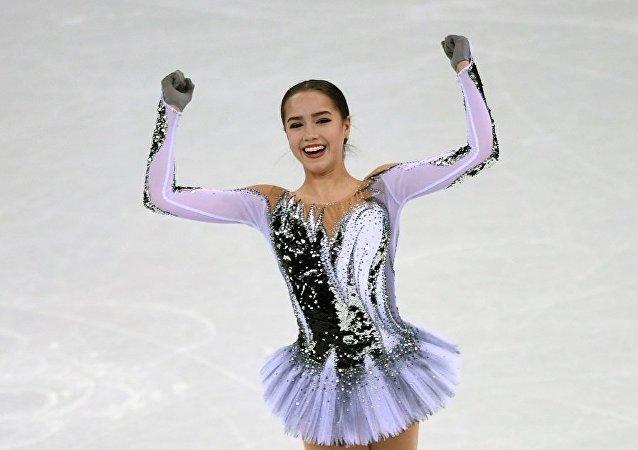 冬奧花滑女子短節目俄選手扎吉托娃居首