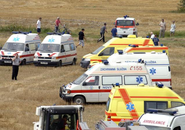 斯洛伐克救護車(圖片資料)