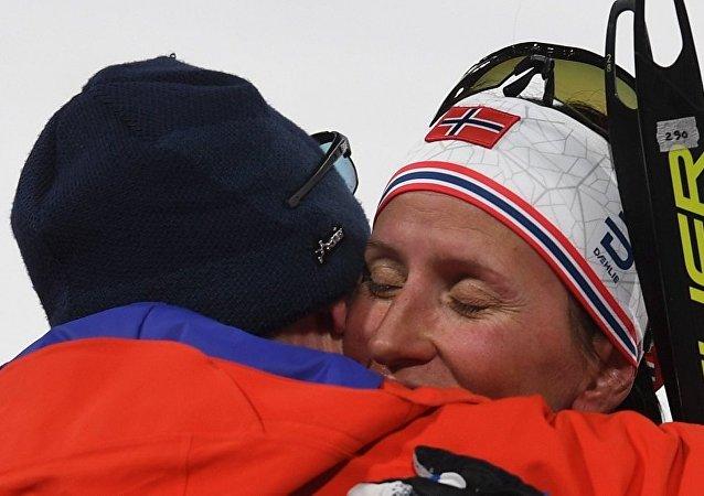 挪威滑雪運動員瑪麗特·比約根