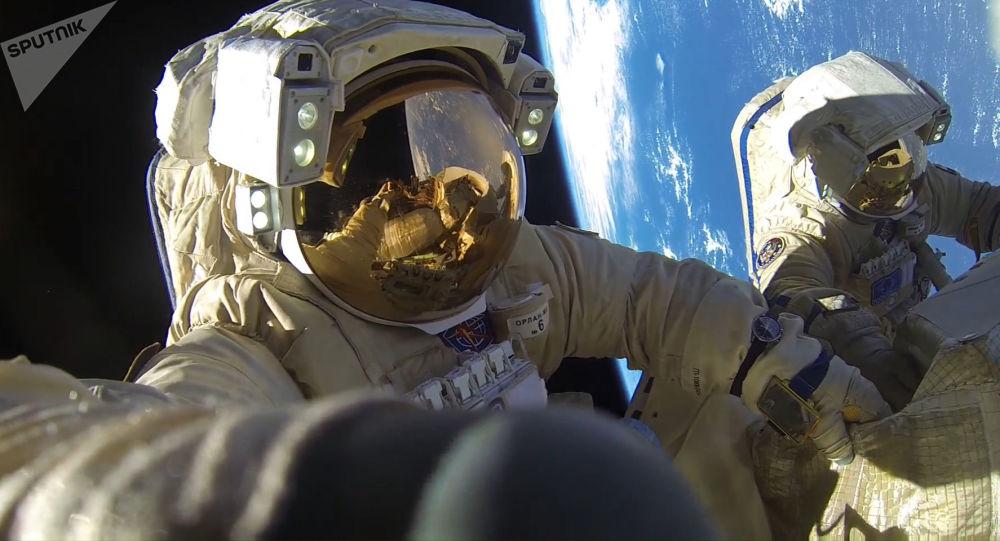俄羅斯宇航員將獲得用於模擬失重狀態下做划槳動作的練習器