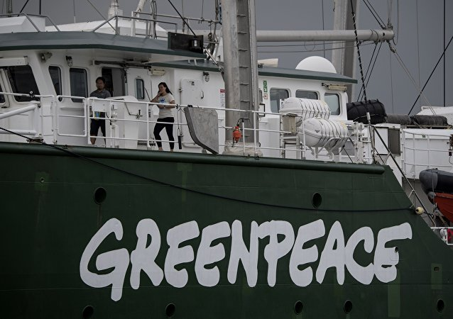 Greenpeace's iconic Rainbow Warrior