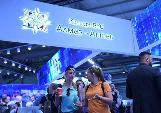 Стенд Алмаз-Антей на Международном авиационно-космическом салоне МАКС-2017 в Жуковском