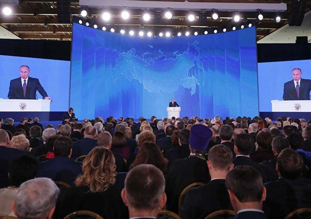 普京:俄羅斯研發反導系統無法攔截的戰略武器