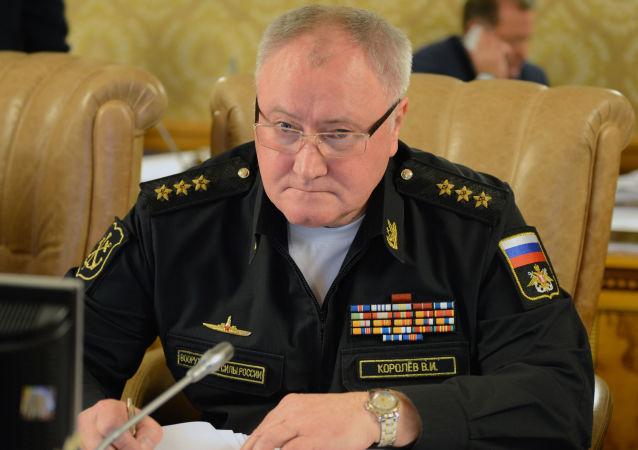 俄羅斯海軍總司令科羅廖夫