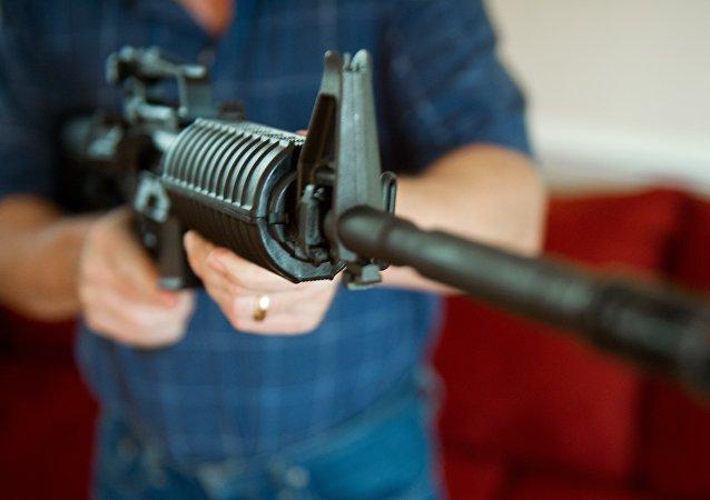 AR-15步槍