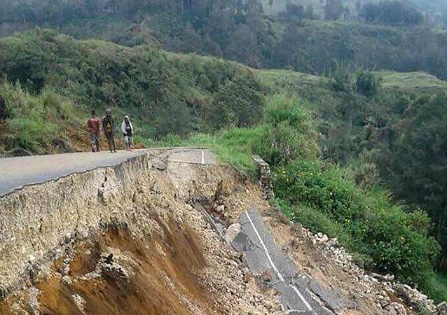 巴布亞新幾內亞地震
