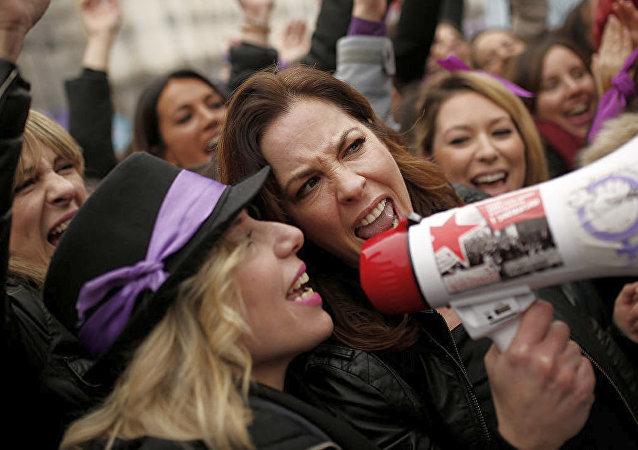 西班牙工會:該國超過500萬人參加女權主義罷工