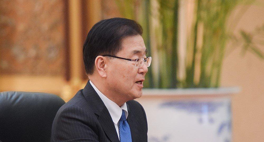 韓國總統特使鄭義溶