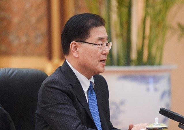 韓國外交部長鄭義溶