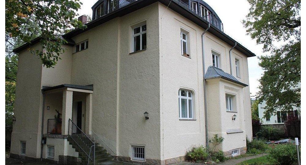 德累斯頓的原克格勃大樓,普京曾工作過的地方