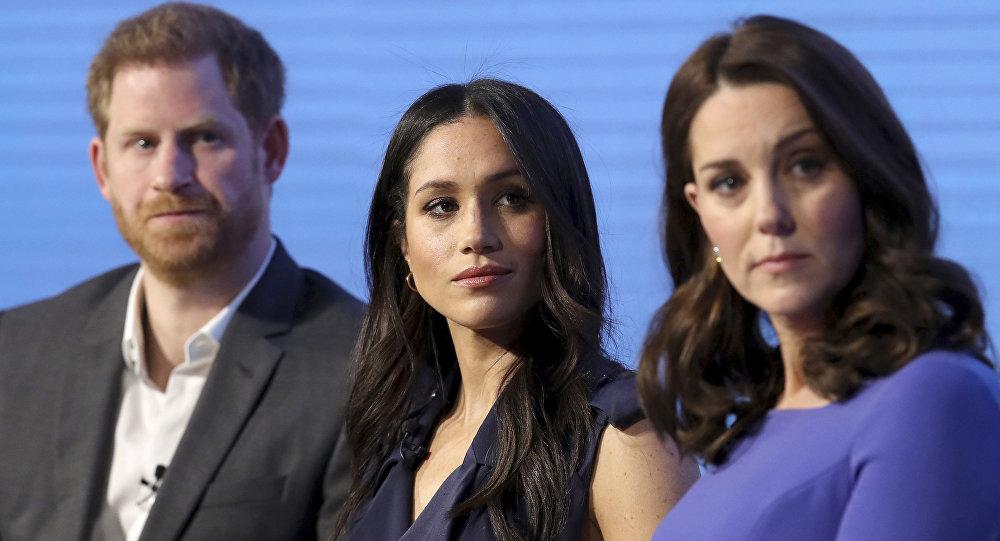 英國女王批准哈里王子與梅根·瑪克爾結婚