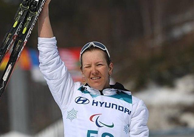 俄羅斯選手安娜·米列寧娜在平昌再奪金