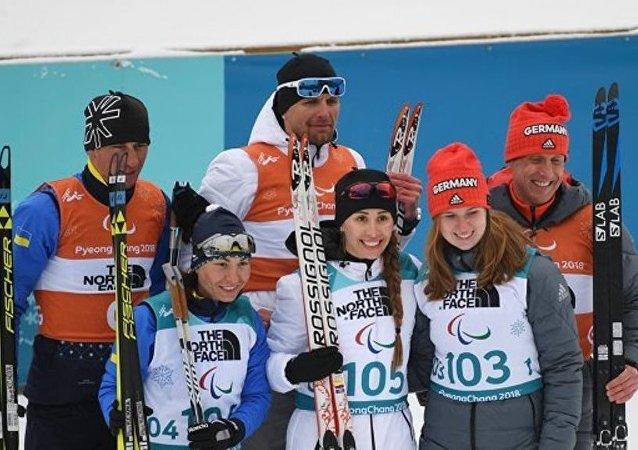 俄羅斯冬季兩項運動員米哈利娜·雷索娃奪得