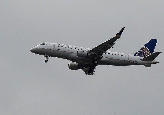 美國聯合航空公司飛機