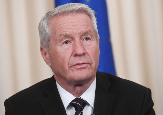 歐洲委員會秘書長亞格蘭