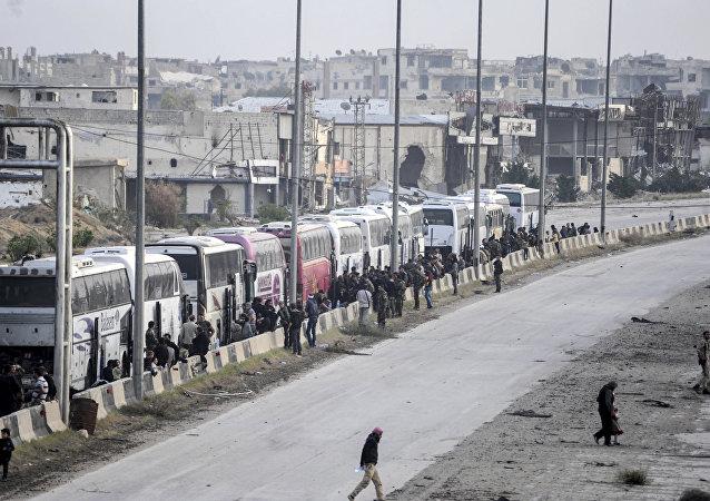 敘軍東古塔行動以來自交戰區撤出超過17萬人
