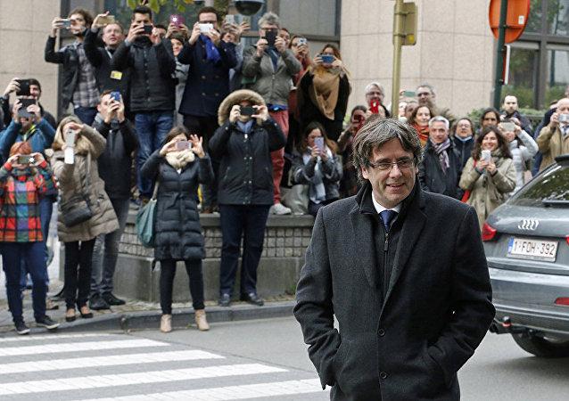 布魯塞爾法院將西班牙加區前主席的引渡案開庭時間推遲到12月16日