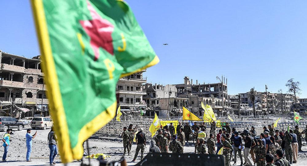 庫爾德「人民保護部隊」(YPG)