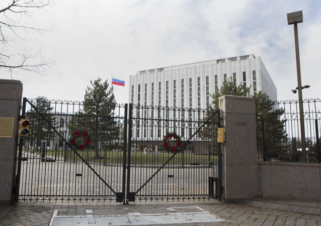俄羅斯駐美國大使館(資料圖片)