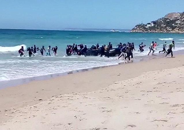 載著600多名難民的三艘救援船17日將抵達瓦倫西亞港