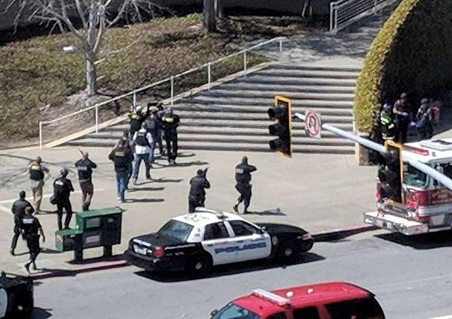 YouTube總部槍擊案致1死4傷