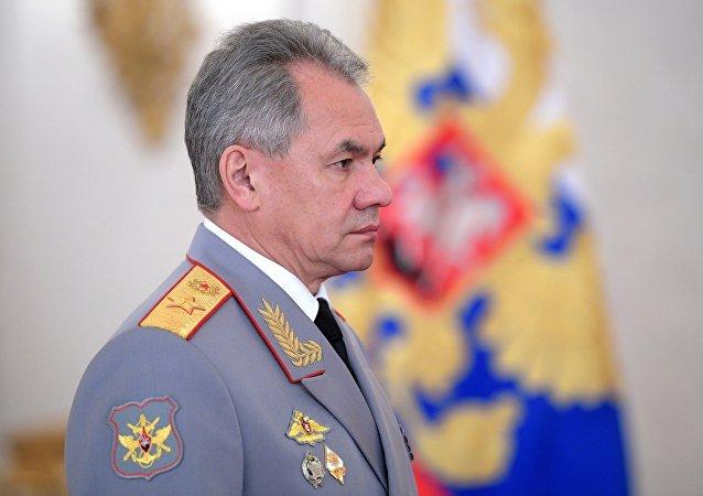 俄羅斯國防部長謝爾蓋·紹伊古