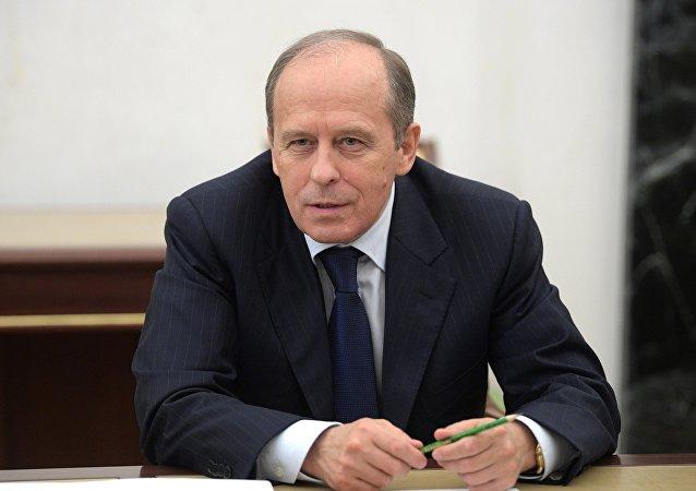 俄聯邦安全局局長表示,俄羅斯2018年共消滅65名恐怖分子,包括10名犯罪團伙頭目
