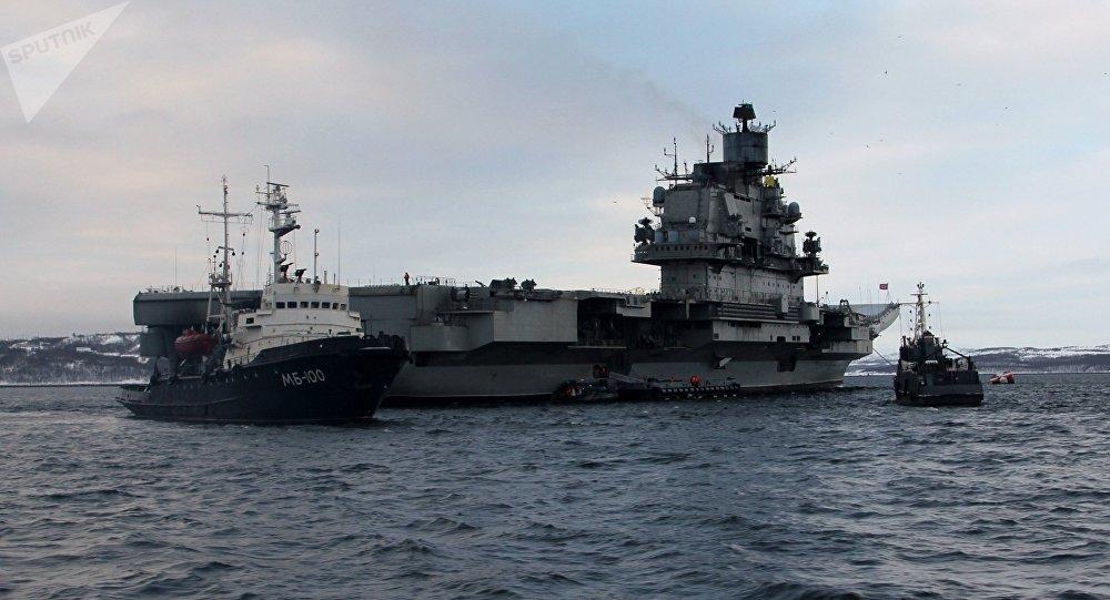 庫茲涅佐夫海軍上將號航空母艦