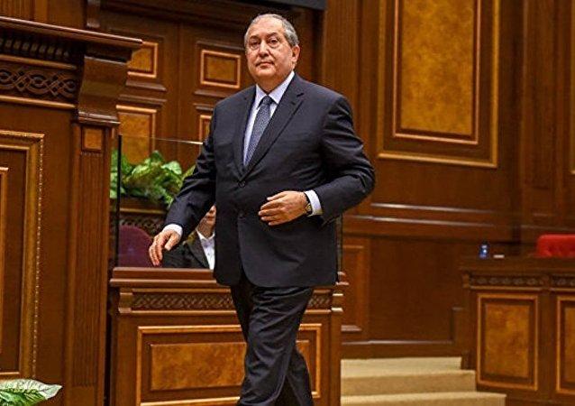 亞美尼亞新總統阿爾緬•薩爾基相