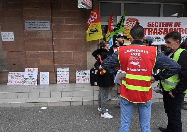 法國鐵路公司因員工罷工損失約1億歐元