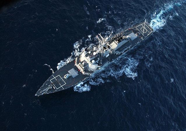 美國軍艦昨日穿越台灣海峽 半個月前曾擅闖中國西沙領海被警告驅離