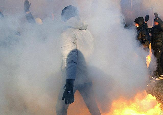 吉爾吉斯斯坦內務部:該國南部居民襲擊中國工廠