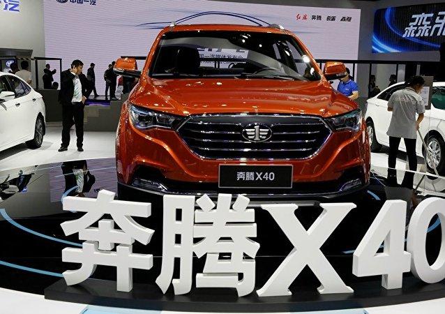 中國一汽轎車1-7月份在俄銷量增長42%