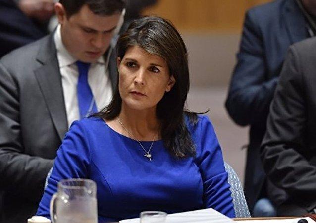 美常駐聯合國代表此前不知美對俄制裁立場轉變