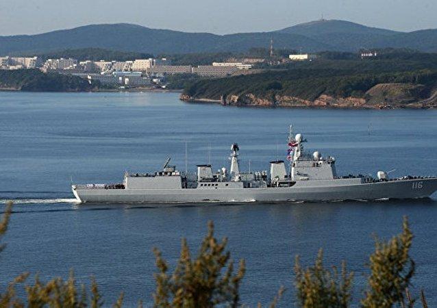 中國國防部:美國防部罔顧事實意在把南海的水攪渾為自身軍事存在製造藉口